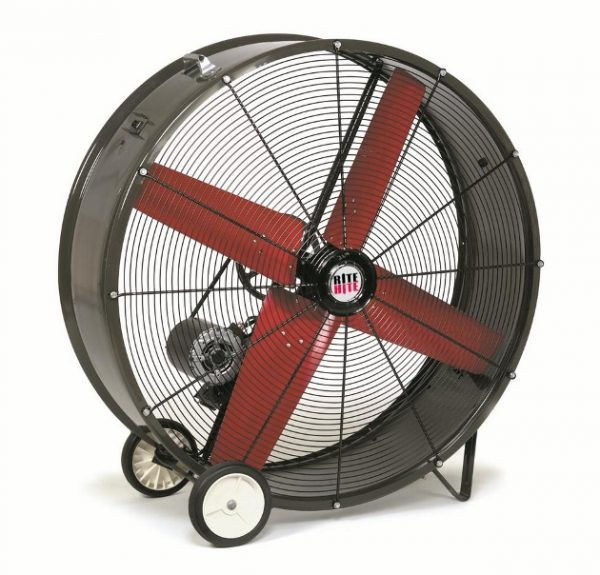 Wall Floor Mounted Fans Rite Hite King Materials Handling
