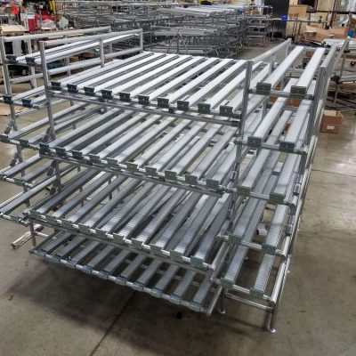 Aluminum Assembled Flow Racks