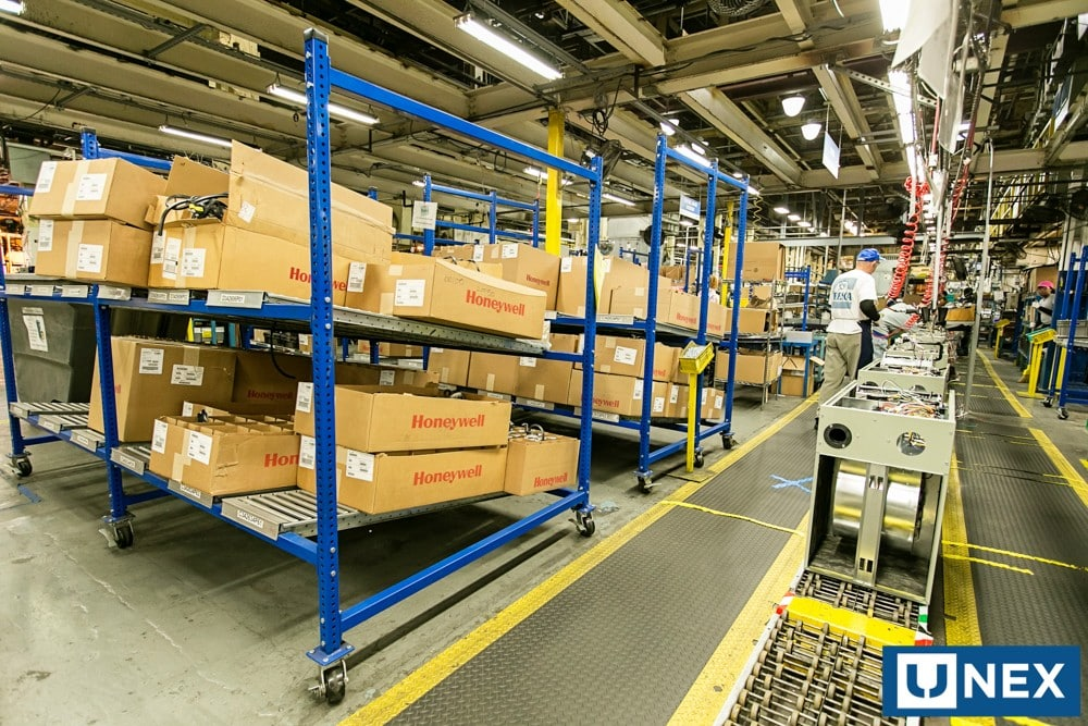 Carton Flow Shelving King Materials Handling