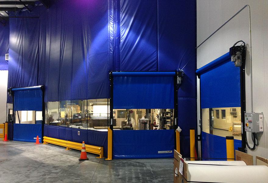 Curtain Wall Systems Rite Hite King Materials Handling