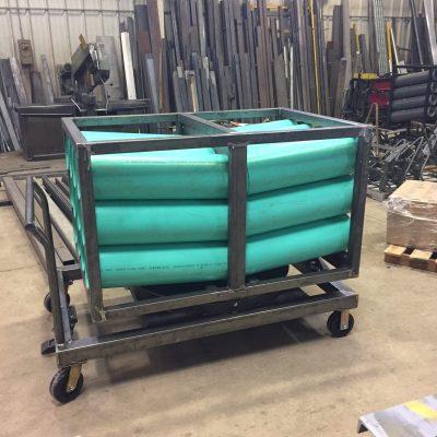 Custom material handling Cart