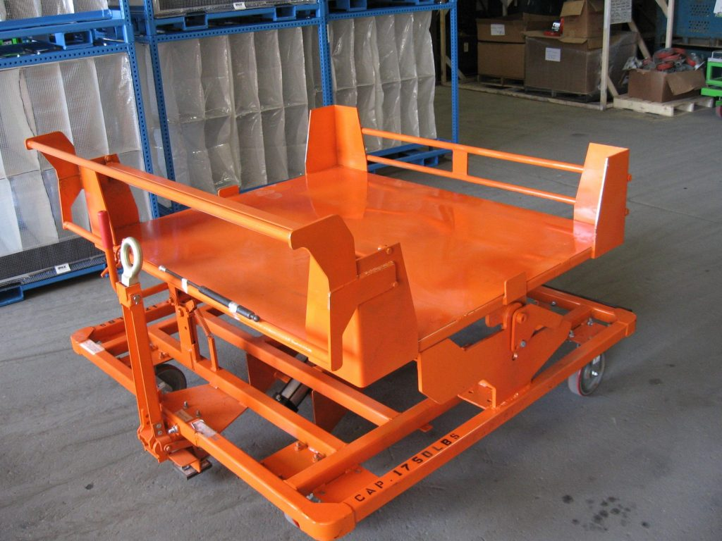 Tilt Carts Products King Materials Handling