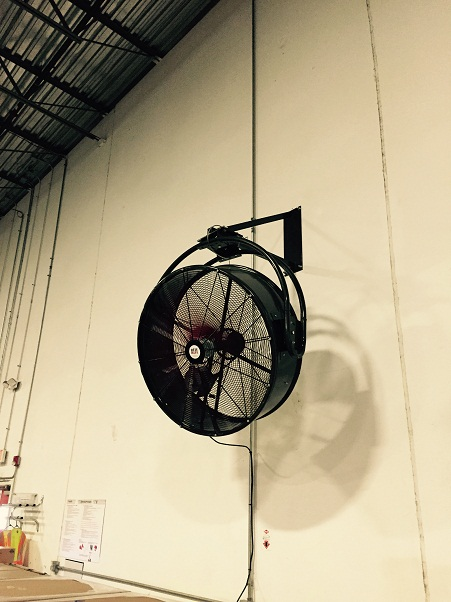 Mounted Fans