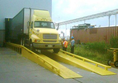 Wheel Riser Dock Equipment