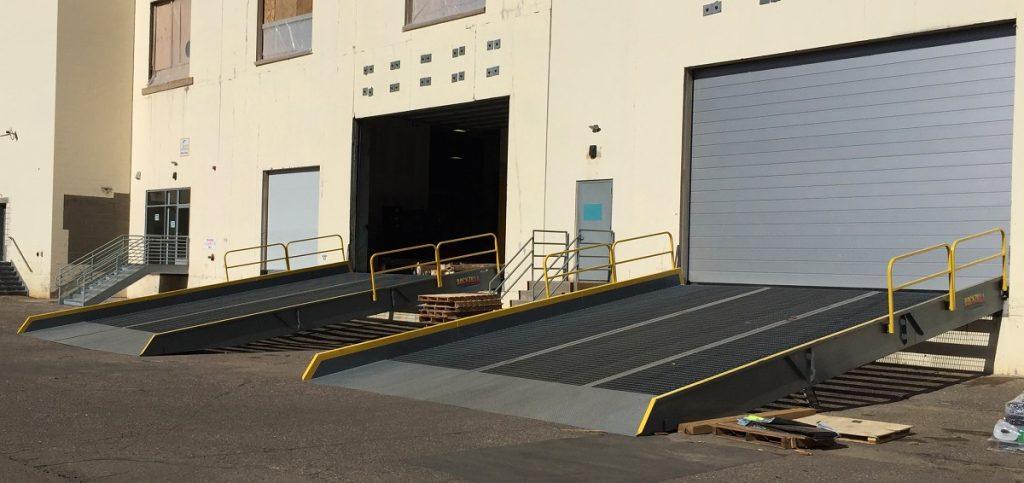 Yard Ramp Dock Equipment King Materials Handling