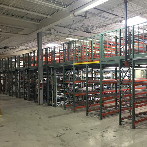 Shelving Supported Mezzanines