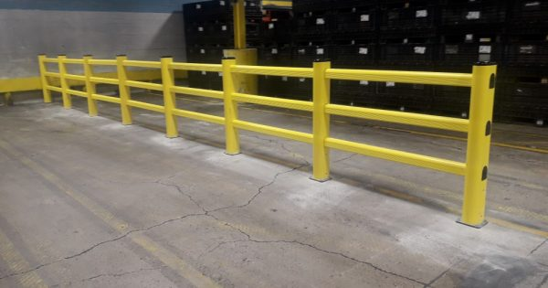 PVC Guardrail Installation