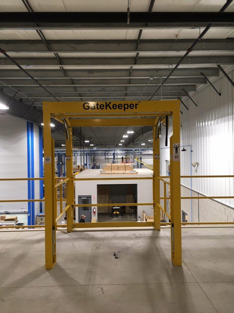 Gatekeeper Mezzanine Safety Gate Rite Hite King