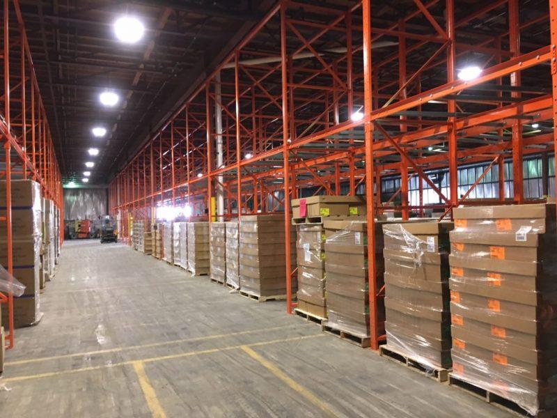 Warehouse Push Back