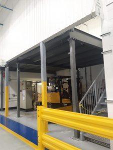 Mezzanine Installation