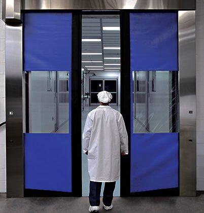 Clean Room Industrial Doors