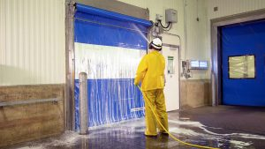 wash down industrial doors