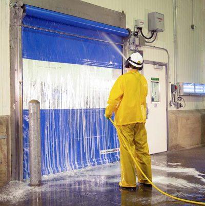 wash down industrial doors